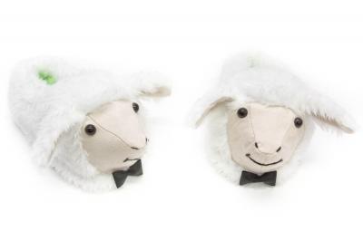 тапочки овечки,овечки,подарок,новый год, символ года,тапки,crazyfeet
