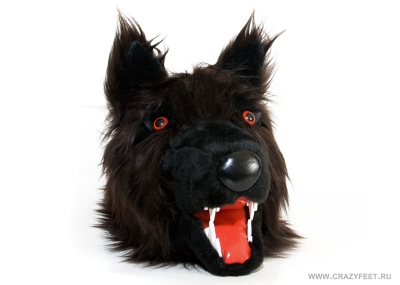 тапочки волки Ругару