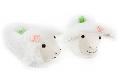 тапочки овечки,овечки,новый год 2015,подарок, crazyfeet