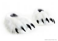 Тапочки лапы белого Медведя