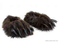 тапочки-игрушки лапы бурого медведя